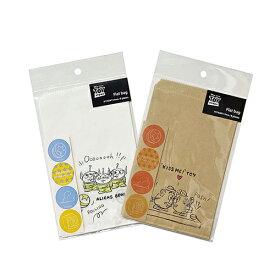ディズニー フラットバッグ (S) トイストーリー 8枚入り 14947 ミニサイズ 紙袋 ポテトヘッド エイリアン 星柄 簡易包装 キャラクター かわいい シール付き 男の子 Disney お菓子袋 ラッピング 袋 プレゼント インディゴ 包装 ラッピンググッズ ラッピング用品