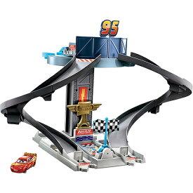カーズ おもちゃ レーシング タワー 15185 ライトニング マックィーン CARS ライトニングマックイーン 車 くるま 走る ディズニー かっこいい 赤 男の子 アメリカ ピクサー Disney PIXAR キャラクター グッズ 雑貨 輸入品 MATTEL インポート メール便不可