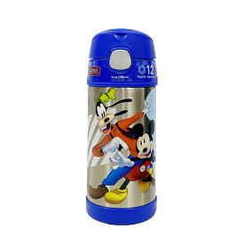 ミッキーマウス 水筒 サーモス ストローボトル ブルー (ミュージック) 14714 THERMOS 保冷 ステンレス すいとう 青 ディズニー Disney ミッキー Mickey フックハンドル 子供 子ども こども キッズ 男の子 女の子 キャラクター グッズ メール便不可