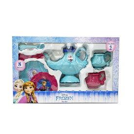 アナと雪の女王 8コ ティーセット 14795 Disney アナ雪 パーティー ティーカップ ソーサー ティーポット ブルー おもちゃ 女の子 おままごと おうちごっこ かわいい キャラクター グッズ インポート 輸入品 メール便不可