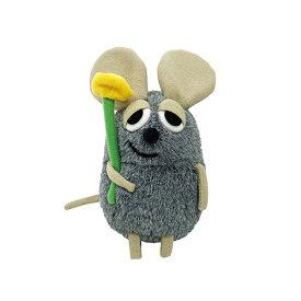 ふかふかフレデリック ぬいぐるみ S (GY) 14855 ねずみ ミニ フレデリック かわいい レオレオニ レオ・レオニ おもちゃ 絵本 キャラクター グッズ 雑貨 プレゼント 景品 ラッピング メール便不可