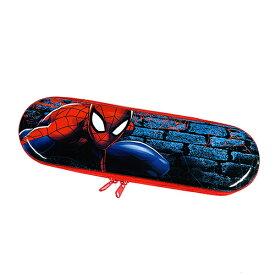 スパイダーマン スリム 缶 ペンケース 15389 筆入れ 筆箱 ペンポーチ ジップ ティン缶 かっこいい マーベル アメコミ ヒーロー 男の子 キャラクター グッズ 輸入品 インポート