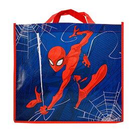 バッグ ショッパーバッグ (Mサイズ/スパイダーマン) 15424 トート トートバッグ ショッパー エコバッグ エコ A4 不織布 手提げ マチあり マーベル アメコミ ヒーロー かっこいい キャラクター グッズ 雑貨 インポート 輸入品