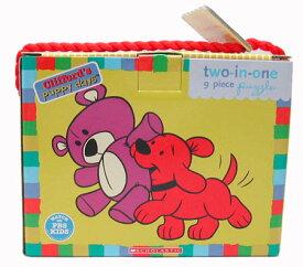 パズル 幼児 クリフォード パピーデイズ 9ピース ツインパズル Clifford グッズ キャラクター雑貨 Puzzle プレゼント ギフト 知育玩具 おもちゃ メール便不可 2112【h_game】