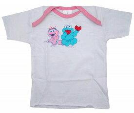 セサミストリート ベビーTシャツ ピンク 2155PK  送料無料 メール便配送【ds】