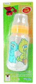 セサミストリート ベビー ボトル ソフト スパウト 11oz (約325ml) イエロー 4688y BPA Free 赤ちゃん BABY ベビーグッズ ビッグバード メール便不可【ds】