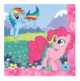 マイリトルポニー 紙ナプキン (S) 16pc amscan 9243 ペーパーナプキン トモダチは魔法 インポート 輸入 パーティーグッズ My Little Pony 送料無料 メール便配送【ds】