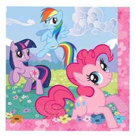 マイリトルポニー 紙ナプキン (L) 16pc amscan 9247 ペーパーナプキン パーティーグッズ トモダチは魔法 インポート 輸入 My Little Pony キャラクター グッズ 送料無料 メール便配送【ds】
