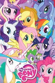 マイリトルポニー My Little Pony ポスター Collage 9417 トモダチは魔法 アニメ グッズ 輸入 インポート メール便不可【ds】