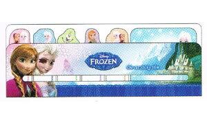 アナと雪の女王 ダイカット付箋スリム Series2 C 9940 FLOZEN Disney ディズニー エルサ オラフ ふせん 6デザイン 90枚 エルサ オラフ ポストイット メモ シール サンスター文具