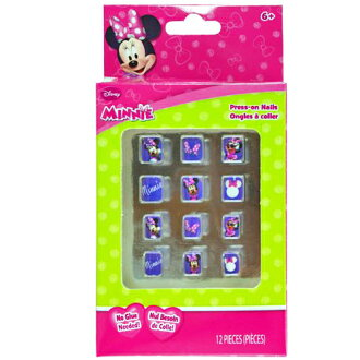 Minnie mouse kids for nail tip 10803 k Disney with nails children's toys Japan fashion anime packets available