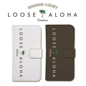 全機種 iPhone 手帳型 ケース iPhone8 Galaxy S8 Xperia XZ1 手帳型 ケース ハワイアン ALOHA エスニック ネイティブ アメリカン おしゃれ ブランド エスニック カバー 海外 人気 かわいい ビーチ サーフ 【LOOSE ALOHA COMPANY】