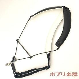 ブレステイキング サックスストラップ ライザプレミアム セーフティフック Mサイズ 黒 BREATHTAKING Lithe Premium II
