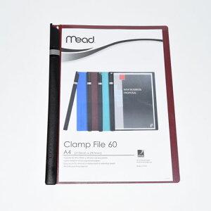 mead Clamp File60 クランプファイル 5冊パック マロン M2003003-J