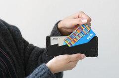 ポルコロッソインナーカードケース PORCOROSSO栃木レザー革本革レザー中仕切りポケット[nouki4]