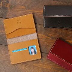 PORCOROSSO(ポルコロッソ)2つ折り免許証ケース/本革/レザー/免許証入れ/ギフト/即納