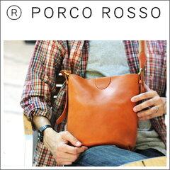 PORCOROSSO(ポルコロッソ)アクティブショルダーバッグS/レザー/本革/ショルダーバッグ