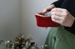 ポルコロッソポケットティッシュケース付ミニポーチ|本革栃木レザー日本製全4色メンズレディースキャメルチョコ茶レッド赤ブラック黒シンプルギフト誕生日プレゼントクリスマスお祝い小銭入れカードビジネススリム[nouki4]