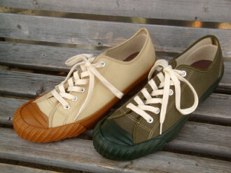 "CUSHMAN (Cushman) 29072 ""WWII LOW CUT SNEAKER / low-cut sneakers"""