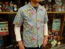 """【送料無料】 CUSHMAN(クッシュマン) """"TIGER PRINT COTTON ALOHA SHIRT/タイガープリントコットンアロハシャツ"""" 2…"""