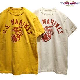 """【送料無料】 TOYS McCOY(トイズマッコイ) ミリタリー Tシャツ """"U.S.MARINES"""" TMC1719 メンズ アメカジ タクシードライバー TAXI DRIVER ロバートデニーロ"""