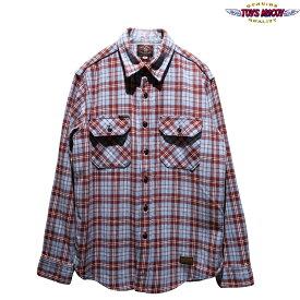 """【送料無料】 TOYS McCOY(トイズマッコイ) McHILL OVERALLS """"COTTON CHECKED SHIRT/コットンチェックシャツ"""" TMS1910 メンズ アメカジ ネルシャツ マックィーン"""