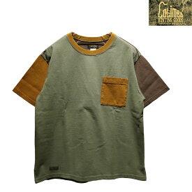 """【送料無料】 COLIMBO(コリンボ) """"LUNA PARK POCKET TEE/ルナパークポケットTシャツ"""" ZW-0419 メンズ アメカジ Tシャツ クレイジーパターン 日本製"""