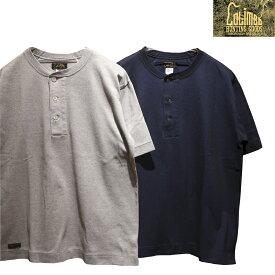 """【送料無料】 COLIMBO(コリンボ) """"RAYKJAVIK MOSS STITCH SHIRT/レイキャビクモスステッチシャツ"""" ZW-0415 メンズ アメカジ ヘンリーネック クールマックス Tシャツ 日本製"""