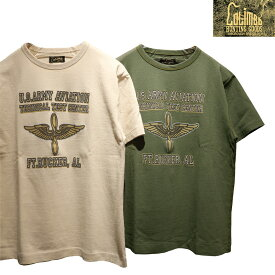 """【送料無料】 COLIMBO(コリンボ) """"LUNA PARK PRINTED TEE """"U.S.ARMY AVIATION""""/ルナパークプリントシャツ アーミーアヴィエイション"""" ZW-0421 メンズ アメカジ Tシャツ ミリタリー 日本製"""