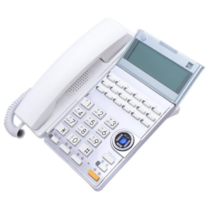 【中古ビジネスホン/中古ビジネスフォン】【中古】 saxa AGREA HM700/Regalis UT700用 卓上型電話機 TD615/625(W) 【ビジネスホン/ビジネスフォン 業務用 電話機 卓上型】