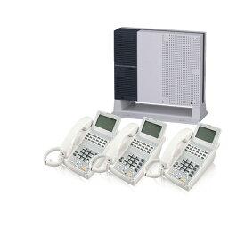 【中古ビジネスホン/中古ビジネスフォン】【中古】 NTT-NXS 3台セットビジネスフォン【ビジネスホン/ビジネスフォン 業務用 電話機 卓上型】