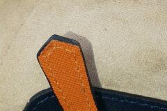 【TRIVALENTEトリヴァレンテURBANO(ウルバーノ)navyネイビー】backpackバックパックリュックビジネスバイカラーツートン本革アルチェカーフ男女兼用イタリア製Itaryミラノサファイアーノレザープレゼントギフトラッピング