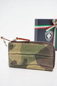トリヴァレンテ キーケース ミニ財布 TRIVALENTE KEYCASE CAMOUFLAGE コインケース カモフラージュ 迷彩 イタリア 革 レザー ビジネス 上質 プレゼント 就職祝い