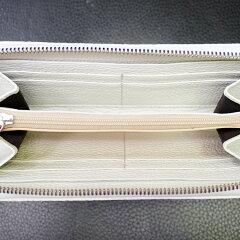 TRIVALENTE(トリバレンテ)Longwallet長財布ロングウォレット幅約19cm高さ約11cm厚み約2.2cmイタリア製Itaryミラノホワイト白whiteレッド赤redアルチェカーフ仔牛革本革シボ感シュリンクレザーバイカラー旅行トラベル誕生日ギフト父の日クリスマス