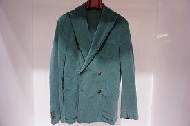 MONTEZEMORO メンズジャケット  クラッシック Wジャケット グリーン 緑 秋冬ジャケット イタリア フィレンツェ 10P03Sep16