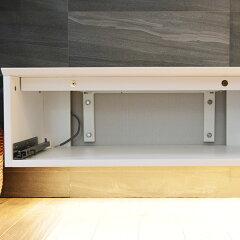 【ARKMOBILEORIGINALAVBOARDCATTINO(カッティーノ)W800】TVボードテレビ台AVボード壁付け型引き出しItary仕様イタリアテイスト細薄型スリム間接照明ホワイト白幅80cm組み合わせ長さ自在高さ27cm奥行45cm※壁取付は別途工事必要