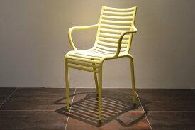【driade pip-e yellow】正規品 driade PIP-e ドリアデ 椅子 イス チェア イタリア製 イエロー 黄色 北欧 モダン デザイナーズ アウトドア バルコニー ガーデン カフェ 屋外 屋内 輸入家具 フィリップ・スタルク Philippe Starck