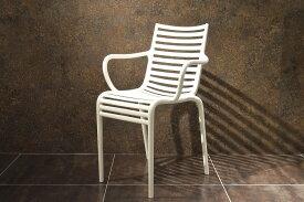 【driade pip-e white】正規品 driade PIP-e ドリアデ 椅子 イス チェア イタリア製 ホワイト 白 北欧 モダン デザイナーズ アウトドア バルコニー ガーデン カフェ 屋外 屋内 輸入家具 フィリップ・スタルク Philippe Starck