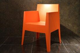 【driade pip-e toy orange】 driade TOY ドリアデ トイ 椅子 イス チェア イタリア製 オレンジ 朱 北欧 モダン デザイナーズ アウトドア バルコニー ガーデン カフェ 屋外 屋内 輸入家具 フィリップ・スタルク Philippe Starck