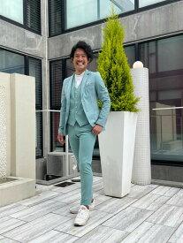 EXIBIT(エクシビット)ストレッチジャケット グリーン 緑 メンズ 男性 インポート import イタリア Itary 海外 現地買付 exi_gcd32338_gr