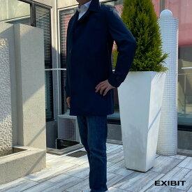 EXIBIT(エクシビット)ステンカラーレインコート ネイビー メンズ 男性 インポート import イタリア Itary 海外 現地買付 exi_imd5134_nv