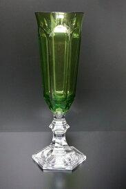 MARIOLUCAGIUSTI FLUTEGLASS green(マリオルカジゥスティー フルートグラス グリーン)緑 アクリル 割れない アウトドア グランピング 海 ギフト プレゼント インテリア エレガント オシャレ シャンパン 母の日 父の日