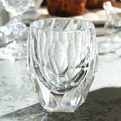 MARIOLUCAGIUSTIMILLYTumblerCLEAR(マリオルカジゥスティーミリータンブラークリア透明)アクリル割れにくいアウトドアグランピング海ギフトプレゼントエレガントカッティング母の日父の日クリスマスお正月パーティー日本酒