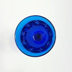 MARIOLUCAGIUSTINOVAItaliaWineCLEAR(マリオルカジゥスティーノーヴァイタリアワイングラスブルー)青アクリル割れにくいアウトドアグランピング海ギフトプレゼントエレガントカッティング母の日父の日クリスマスお正月パーティー