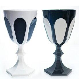 鮮やかな発色と深い透明感イタリアフィレンツェMarioluca Giustiマリオルカジウスティのアクリルグラス 割れにくくリビング、ダイニング、レジャー、アウトドアにも! フォルテ・デイ・マルミ ワイングラス