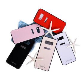 【ネコポス送料無料】Galaxy S8/S8+ Note8 ケース SC-02J/SCV36/SC-03J/SCV35 9H 薄い 軽量 スマホケース カバー ハード ガラス ケース Pro 指紋防止 携帯カバー 携帯ケース 充電器対応 case glass ガラスケース