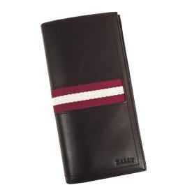 【並行輸入品】 バリー 財布 TALIRO 271 BALLY 小銭入れ付き チョコレート ブラウン