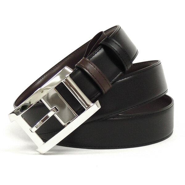 【並行輸入品】 カルティエ Cartier ベルト タンク XL L5000335 ブラック+ダークブラウン メンズ リバーシブルタイプ