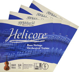 Helicore ヘリコア コントラバス弦 SET
