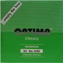 【メール便対応商品】OPTIMA オプティママンドリン弦 スペシャル 3D 2本セット